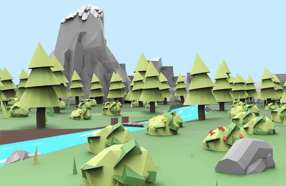 Neben Tilt Brush bietet Google VR-Nutzern ab sofort ein weiteres Kreativwerkzeug an, mit dem sich spielend leicht 3D-Modelle erstellen lassen.