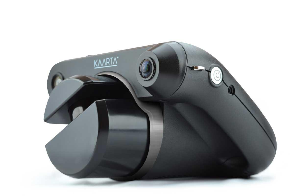 Handlicher Tiefenscanner erstellt in Echtzeit 3D-Modelle der Umgebung