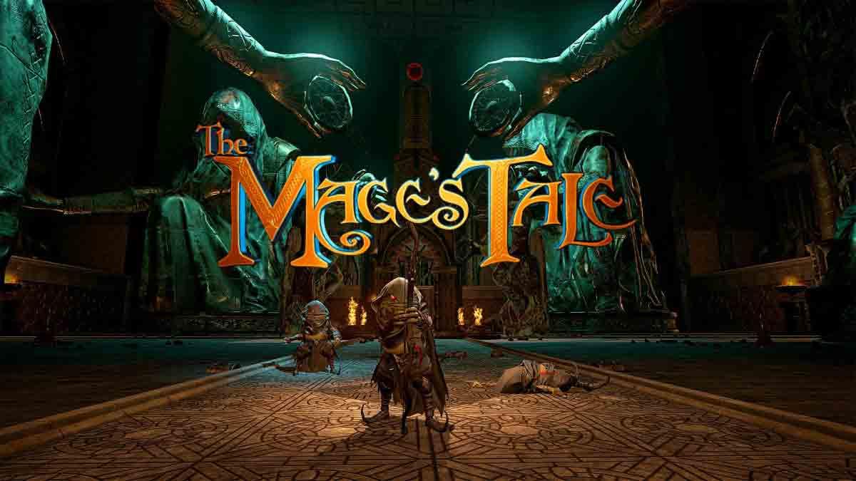"""Beinahe ein Jahr lang war das Rollenspiel """"The Mage's Tale"""" von Inxile Entertainment Oculus-exklusiv, nun ist es für HTC Vive und Windows Mixed Reality erhältlich. Ob sich der Kauf lohnt, zeigt der Test."""