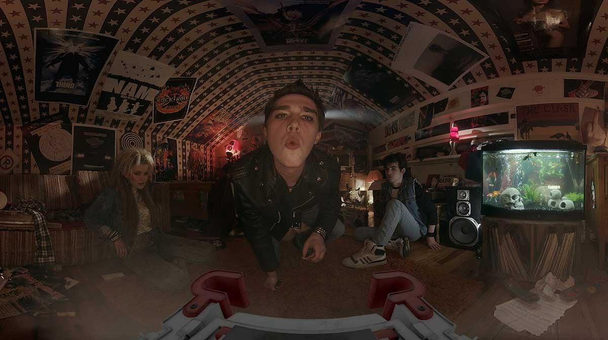 Miyubi will an die Erzähltradition des Kinos anknüpfen und mit den Mitteln des 360-Grad-Films eine zusammenhängende Geschichte erzählen.
