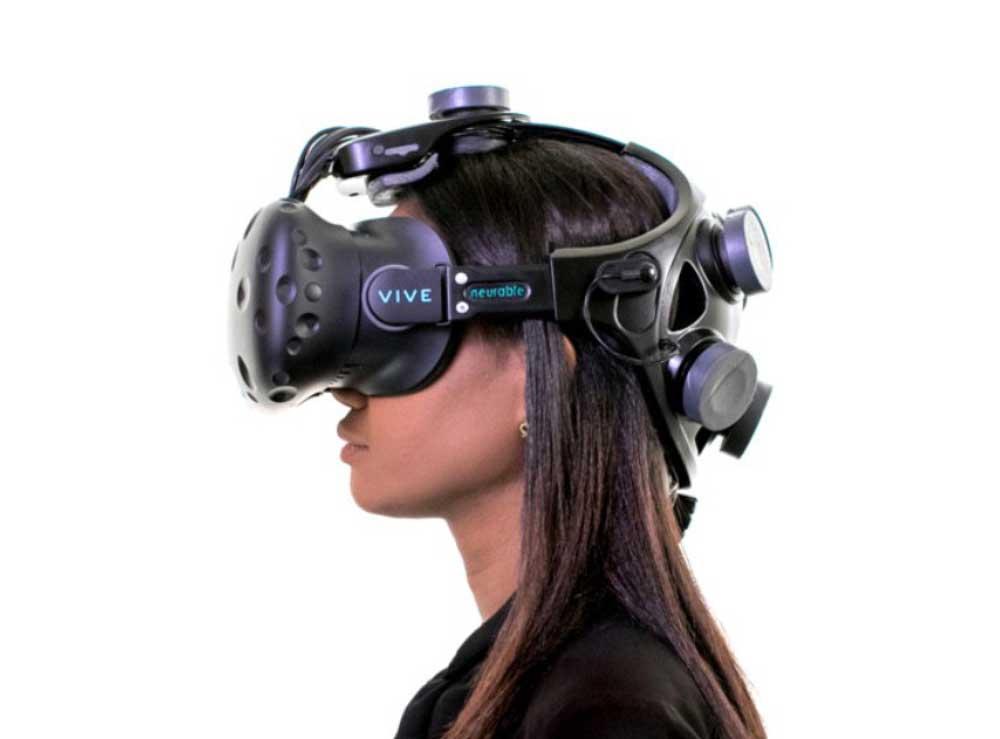 Mit dem Zubehör für HTC Vive sollen Nutzer allein mit der Kraft ihrer Gedanken mit VR-Anwendungen interagieren können.