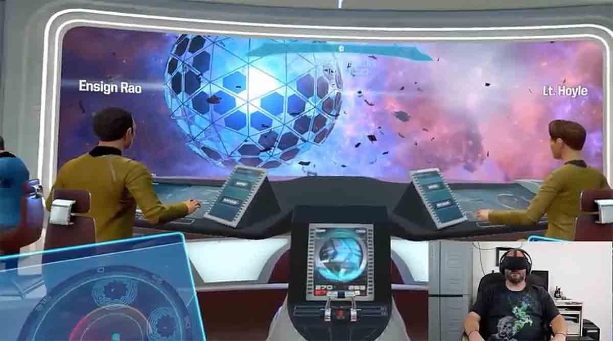 Spieler absolviert Star Trek: Bridge Crew allein mit Hilfe von Watson