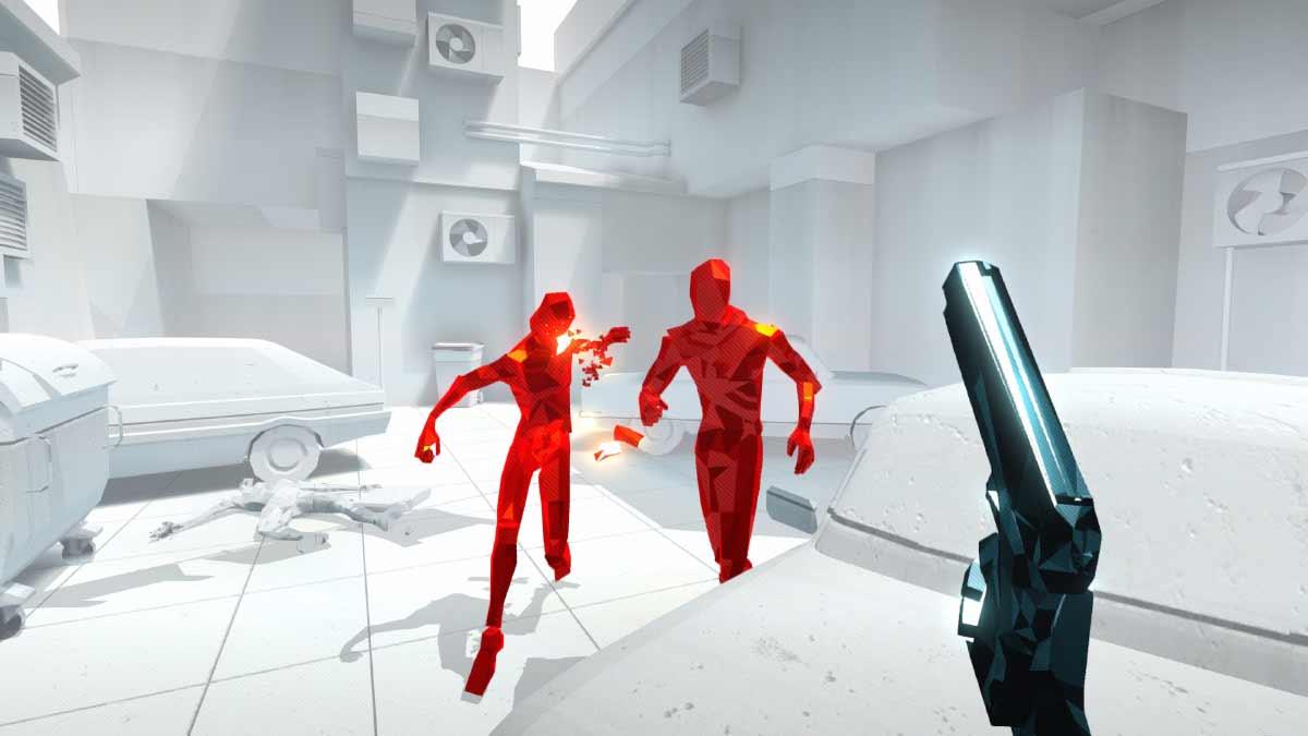 Superhot VR ist ein Vorzeigespiel für Virtual Reality, weil es den eigenen Körper einmalig gut in den Spielfluss einbindet. Jetzt verrät einer der Entwickler erstmals Ansätze für einen Nachfolger.