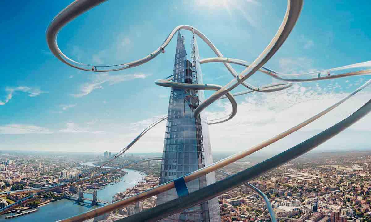 The Shard in London bietet seit kurzem zwei VR-Attraktionen, mit der Besucher die Londoner Skyline auf eine ungewöhnliche Art erleben können.