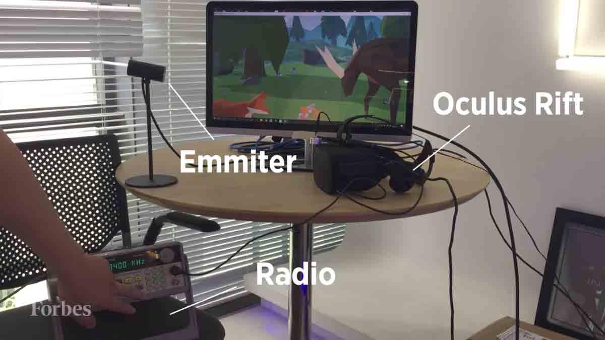 Hacker stören Virtual-Reality-Erfahrung mit Ultraschall-Pistole