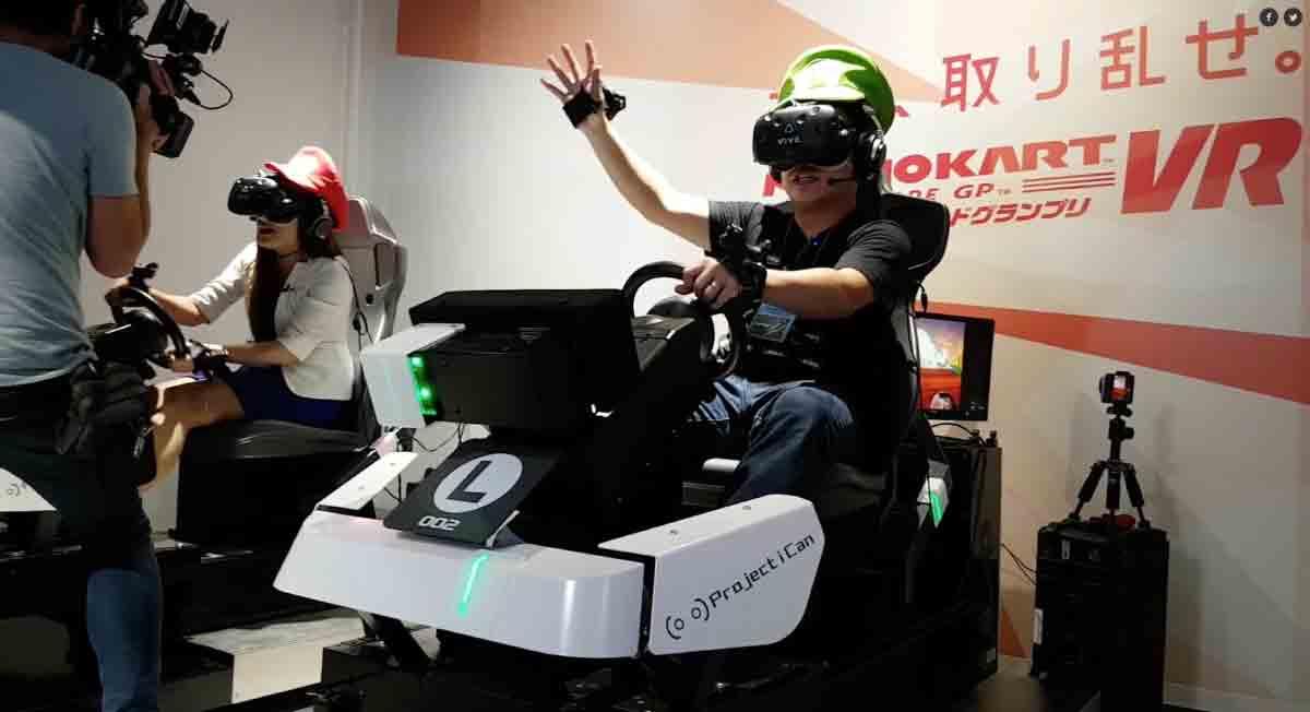 Vergangenen Freitag eröffnete in Tokio eine der größten und fortschrittlichsten VR-Arcades der Welt: Bandai Namcos VR Zone Shinjuku.