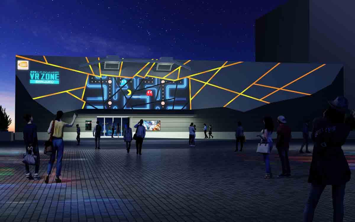 """Am 14. Juli eröffnet in Tokio eine der größten und fortschrittlichsten VR-Arcades der Welt: Bandai Namcos """"VR Zone Shinjuku""""."""