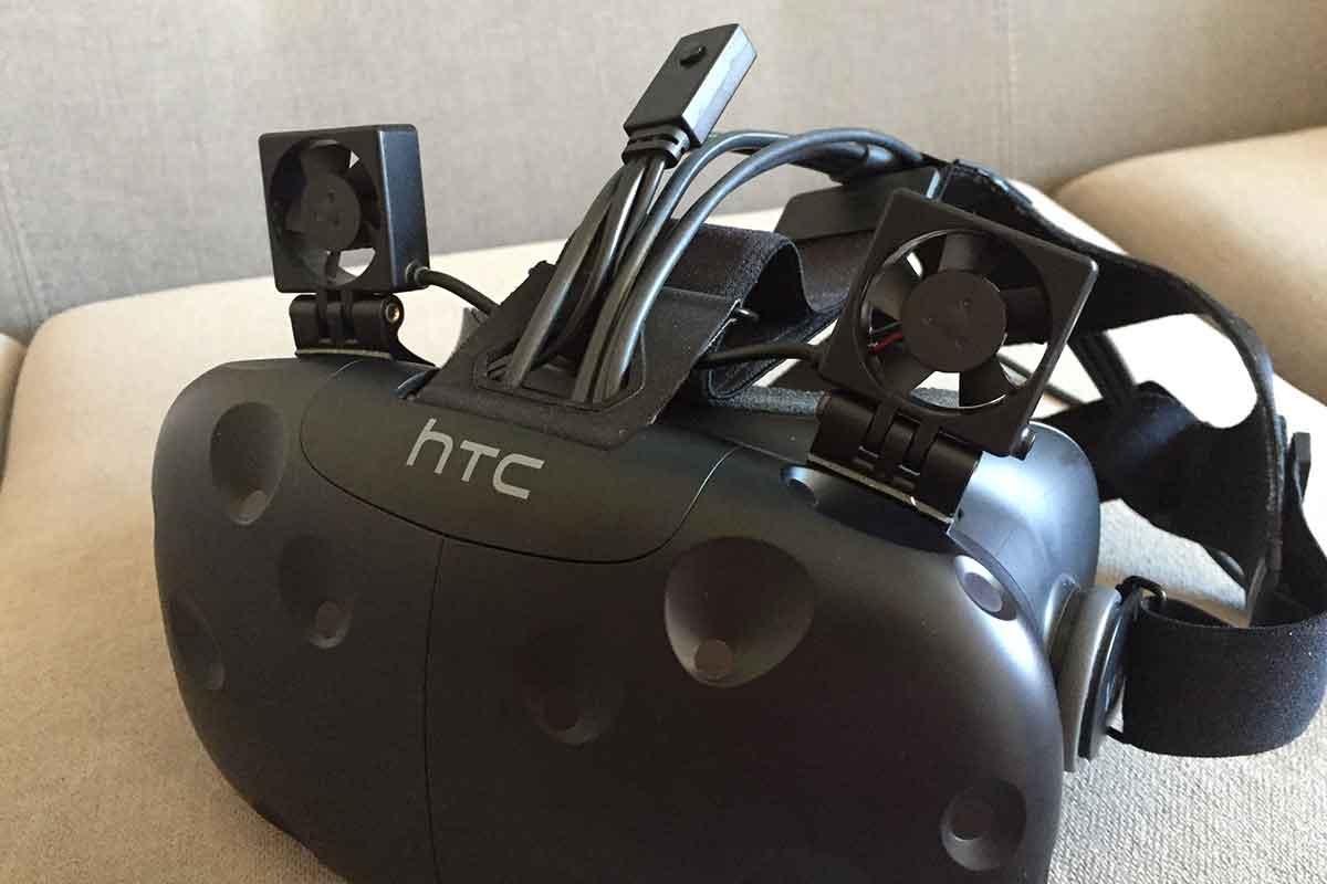 Heiße Sommertemperaturen vermiesen euch den Spaß an der VR-Brille und ihr sucht eine Kühlung? Vielleicht hilft ViveNChill.