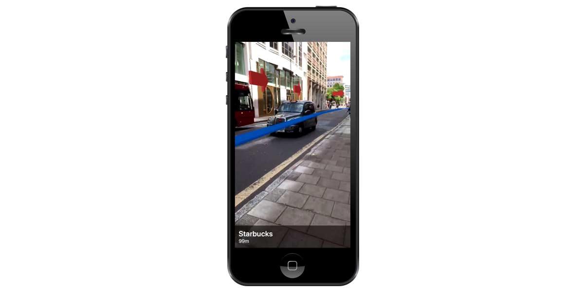 Mit Apples ARKit klebt die Navigation nicht mehr abstrakt am 2D-Display, sondern kann direkt in die Umgebung integriert werden.