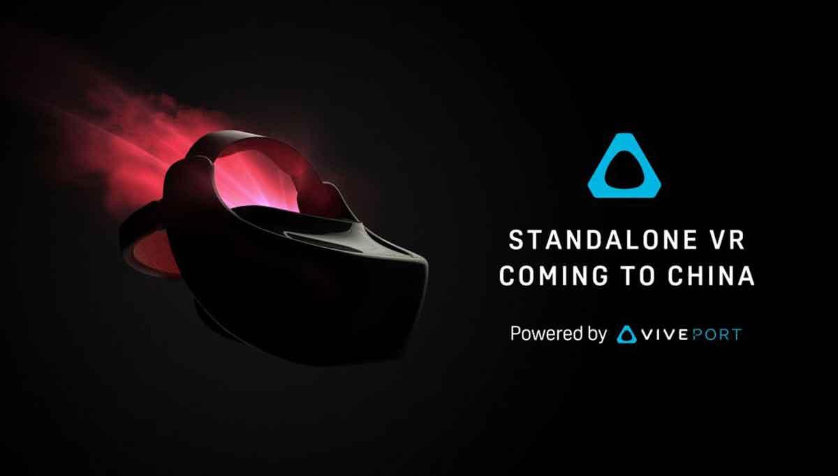 Die neue Brille erscheint vorerst nur in China, kommt aber mit der Daydream-Initiative wohl schnell in den Westen. Bild: HTC