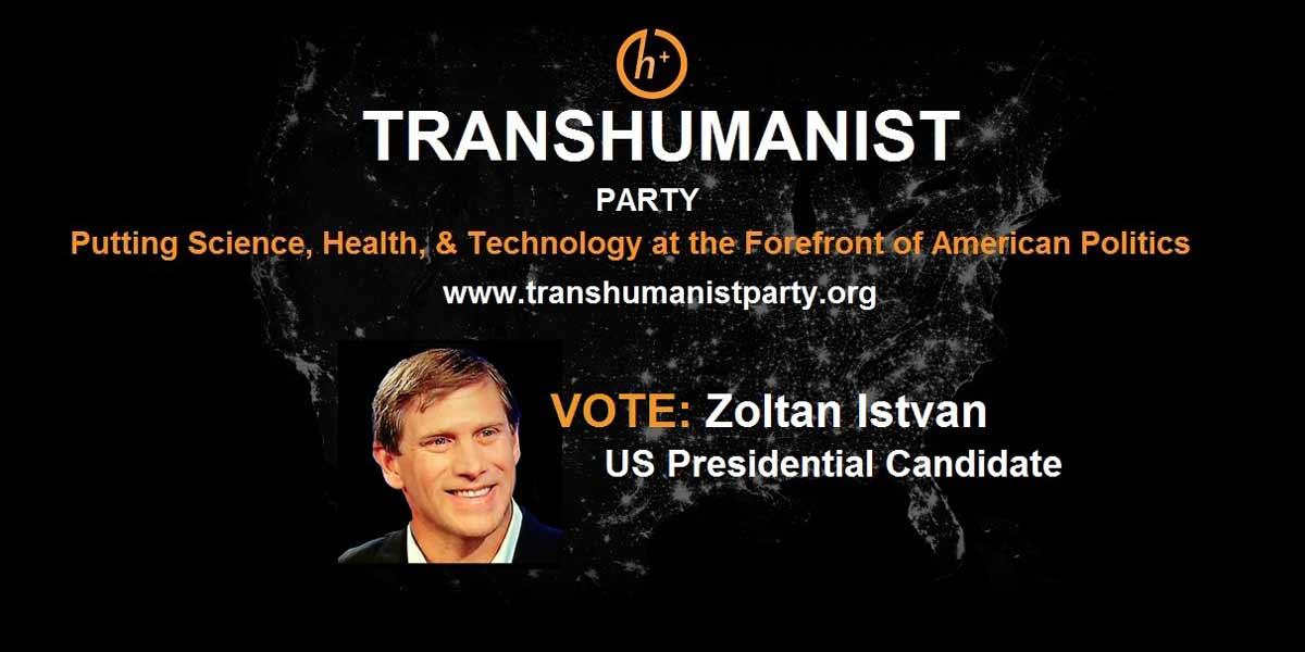 Transhumanisten glauben, dass Menschen die nächste Ebene ihrer Existenz mit Technologie erreichen. Einer der bekanntesten ist Zoltan Istvan.