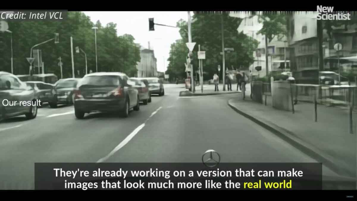 Der Entwickler der Künstlichen Intelligenz wollte sogar schon die Welt von Grand Theft Auto durch fotorealistische Straßenzüge ersetzen.