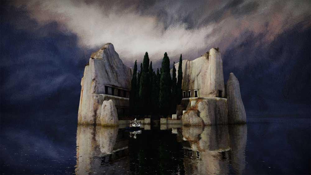 """Ein Schweizer Studio setzt mit Arnold Böcklins """"Toteninsel"""" eines der berühmtesten Motive der Malerei für Virtual Reality um."""