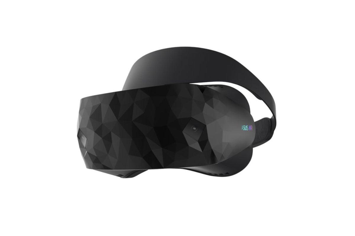 Die VR-Brille von Asus sticht durch ihr extravagantes Aussehen und den zusätzlichen Nutzungskomfort hervor.