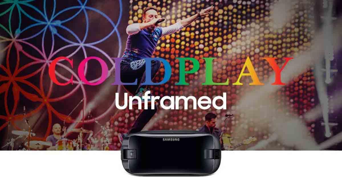 Wer eine Samsung Gear VR besitzt, kann am 17. August kostenlos und live einem Konzert von Coldplay beiwohnen.