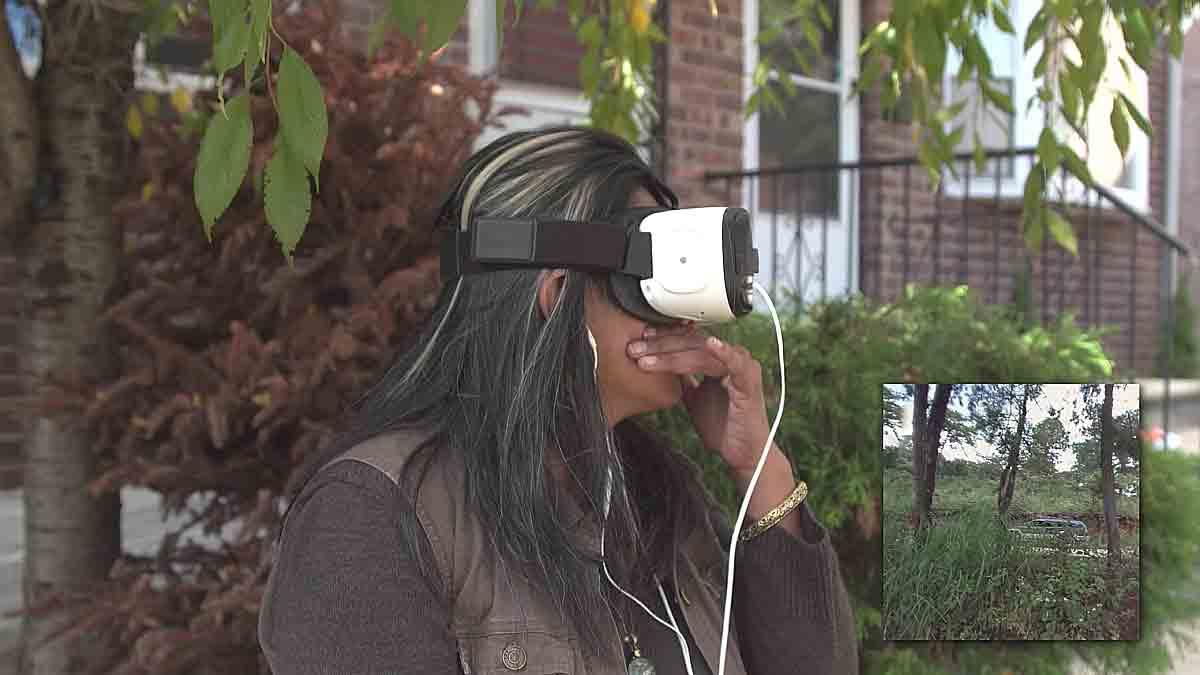Ein gemeinnütziges Projekt nutzt Virtual Reality, um Emigranten eine Reise in ihre alte Heimat zu ermöglichen.