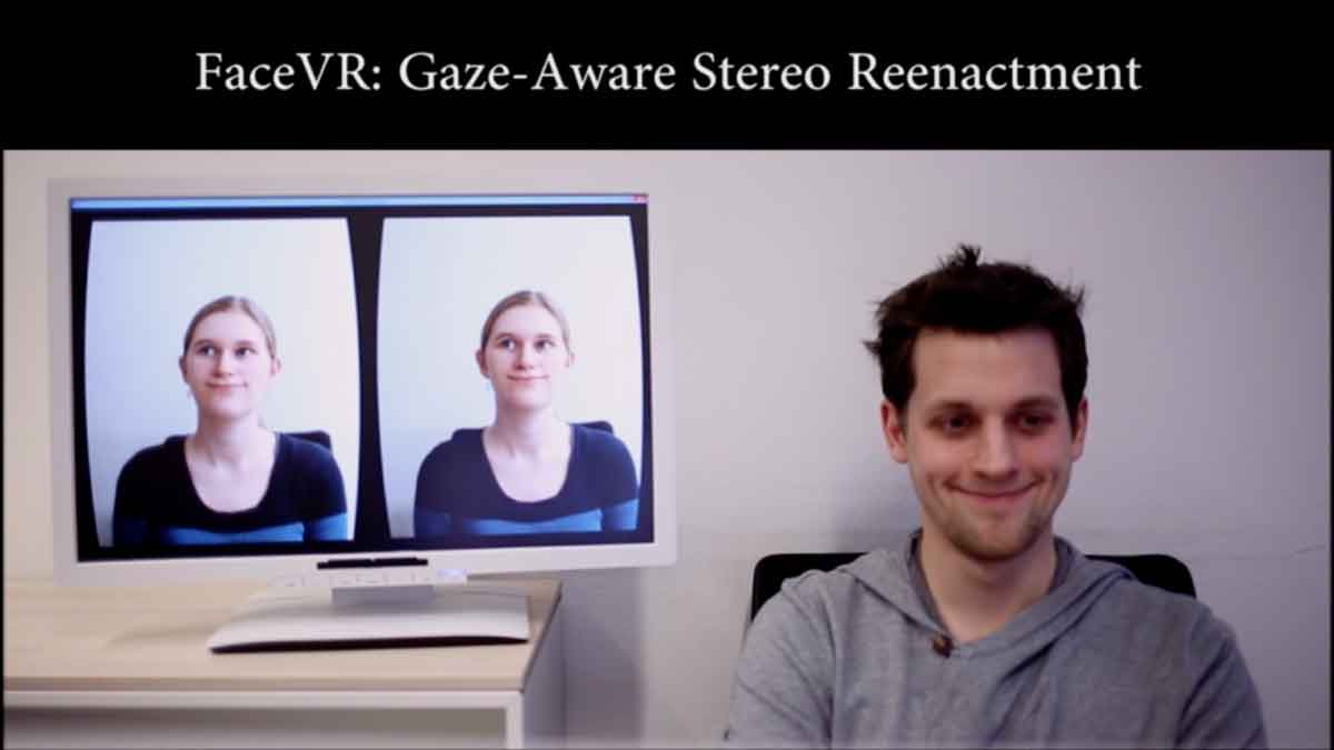 Virtual Reality: Deutsche Forscher zeigen Facetracking-Technologie