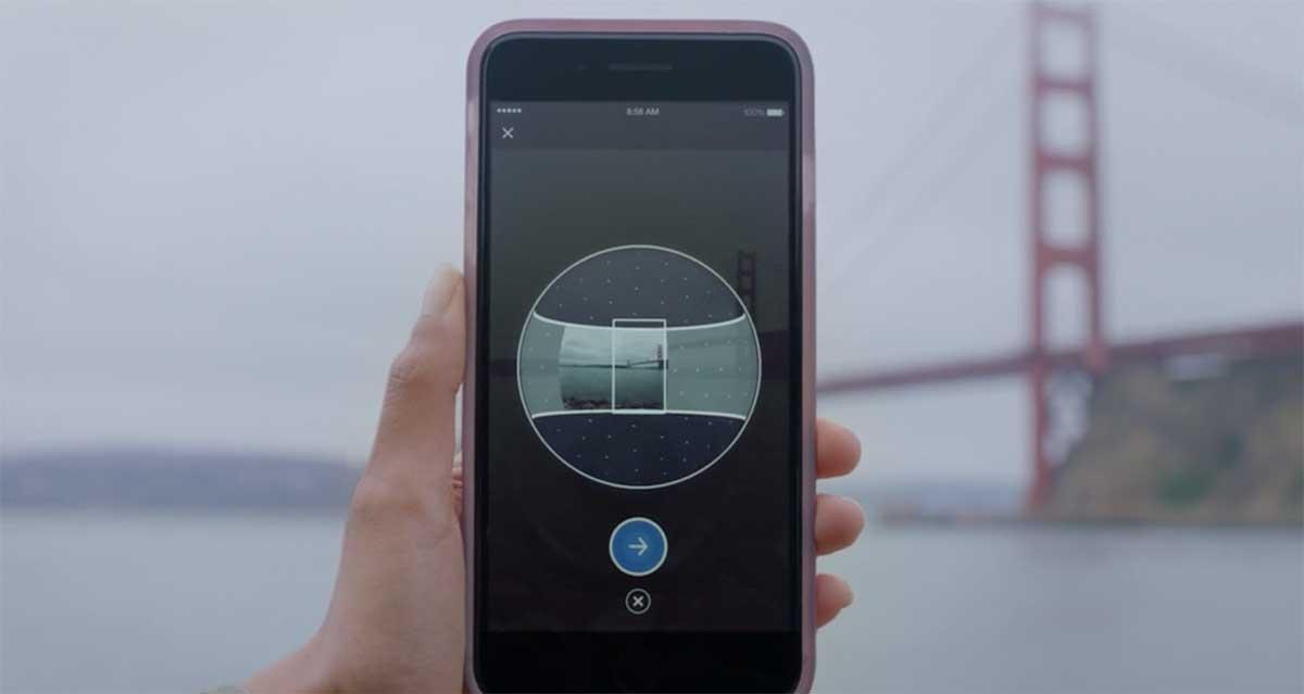 Derzeit rollt Facebook ein Update für die eigene Smartphone-App aus, mit der sich 360-Grad-Fotos ohne Spezialkamera schießen lassen.