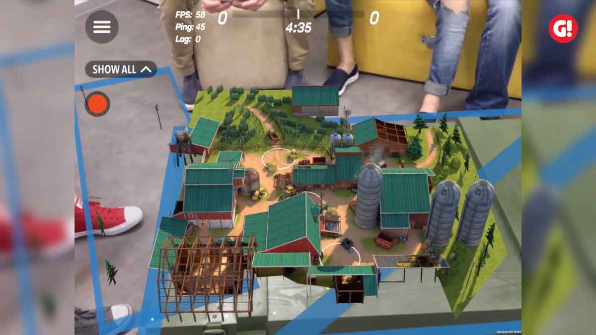 """Für den Teamshooter """"Guns of Boom"""" erscheint im Herbst eine ARKit-Erweiterung, mit der sich Wettkämpfe in die Umgebung projizieren lassen."""