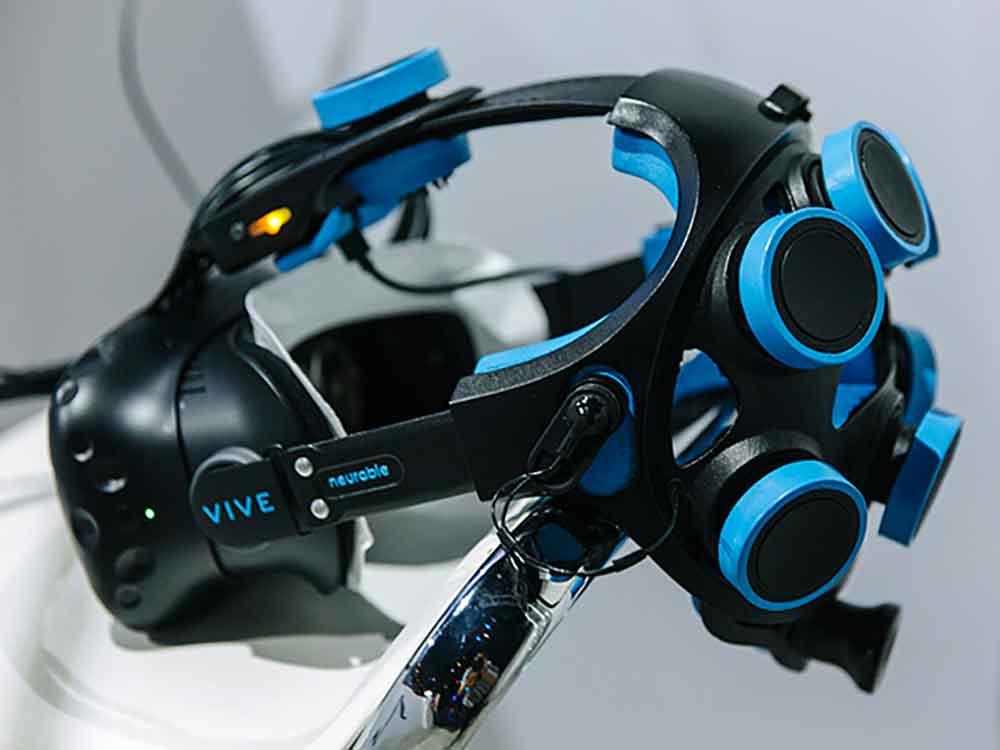 Neurable entwickelt das erste Hirn-Computer-Interface für Virtual Reality. Jetzt verrät der¨CEO, was das Startup mit der Technologie vorhat.