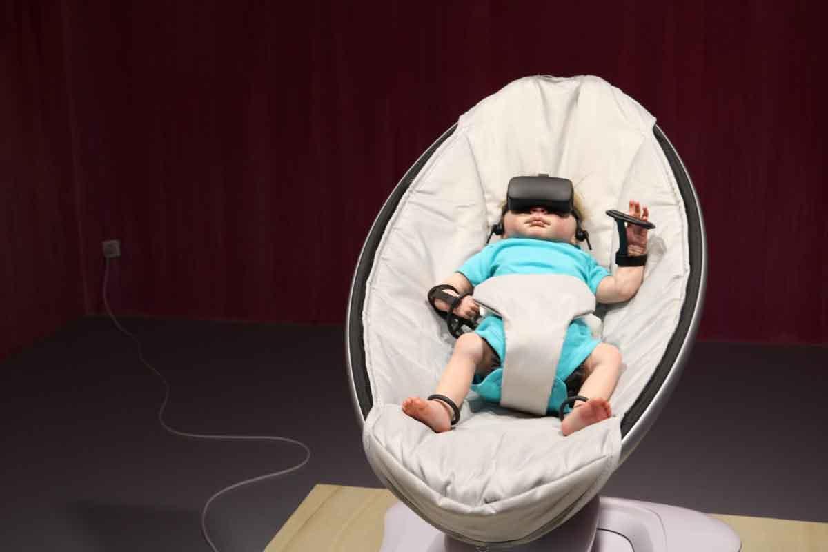 Ferne oder doch nahe Zukunft? Der Futurist Stuart Candy konfrontiert Besucher einer Kunstausstellung mit dieser Frage.