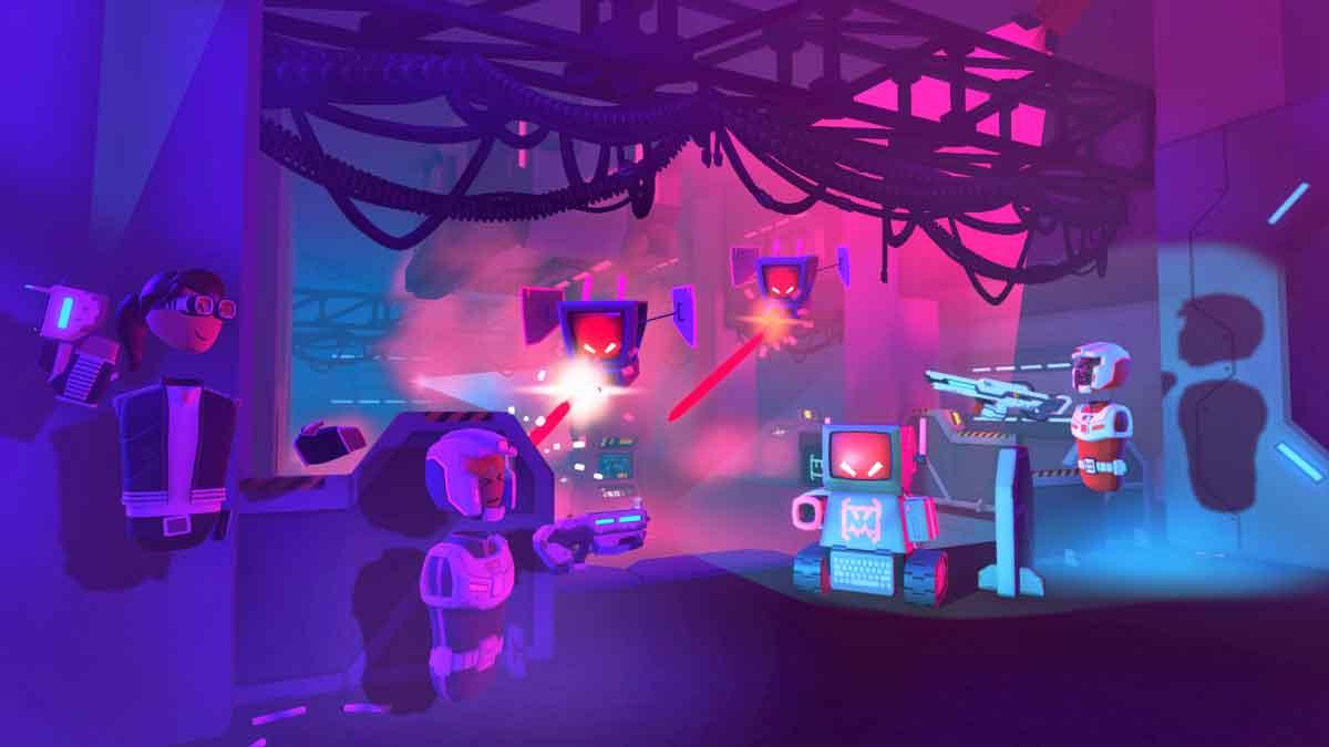 """Wie baut man eine freundliche VR-Gemeinschaft auf und verhindert Belästigungen? Das Studio hinter der Social-VR-App """"Rec Room"""" gibt Beispiele."""