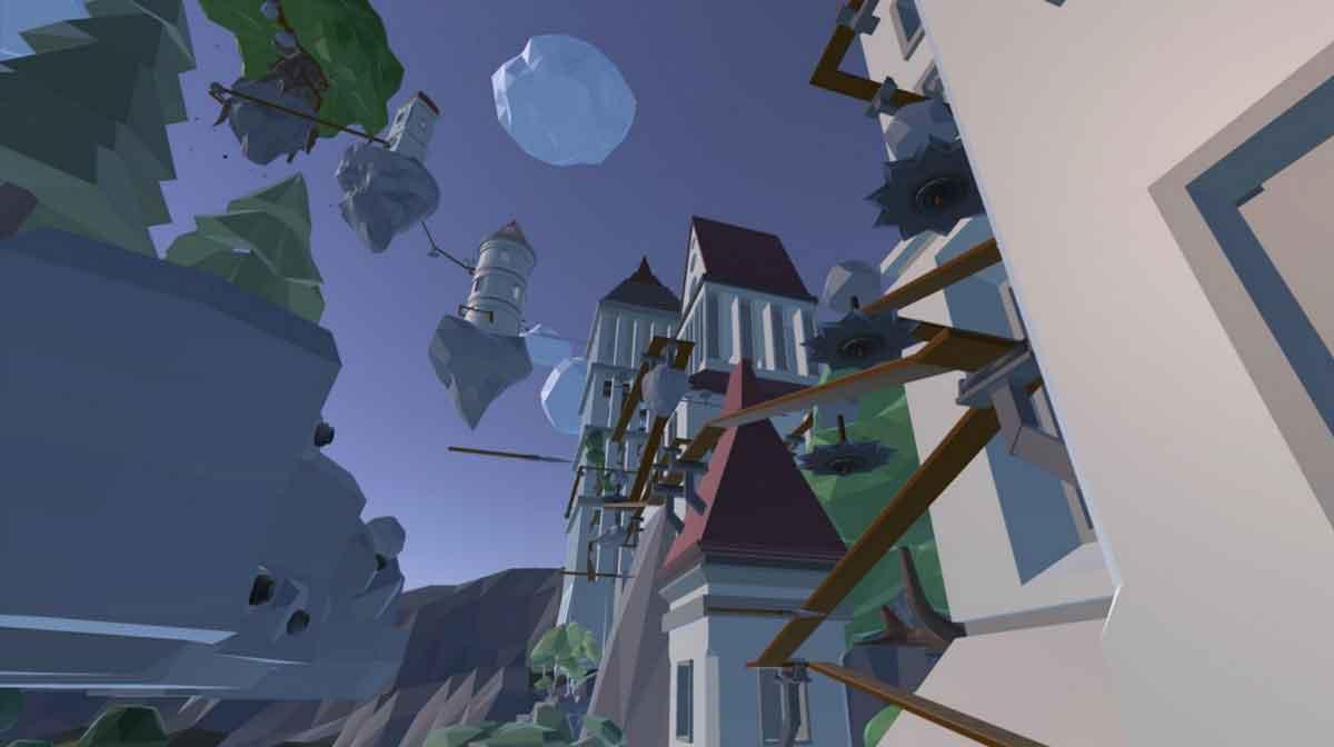 """Das deutsche VR-Spiel """"The Tower"""" wartet mit einem Spielkonzept auf, das ein starkes Gefühl physischer Präsenz hervorruft."""