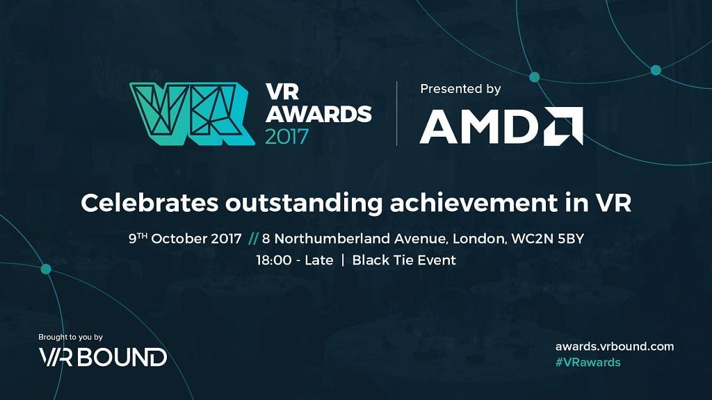 In London fanden die VR Awards statt, die von Unternehmen und Personen aus der VR-Szene finanziert und unterstützt werden.