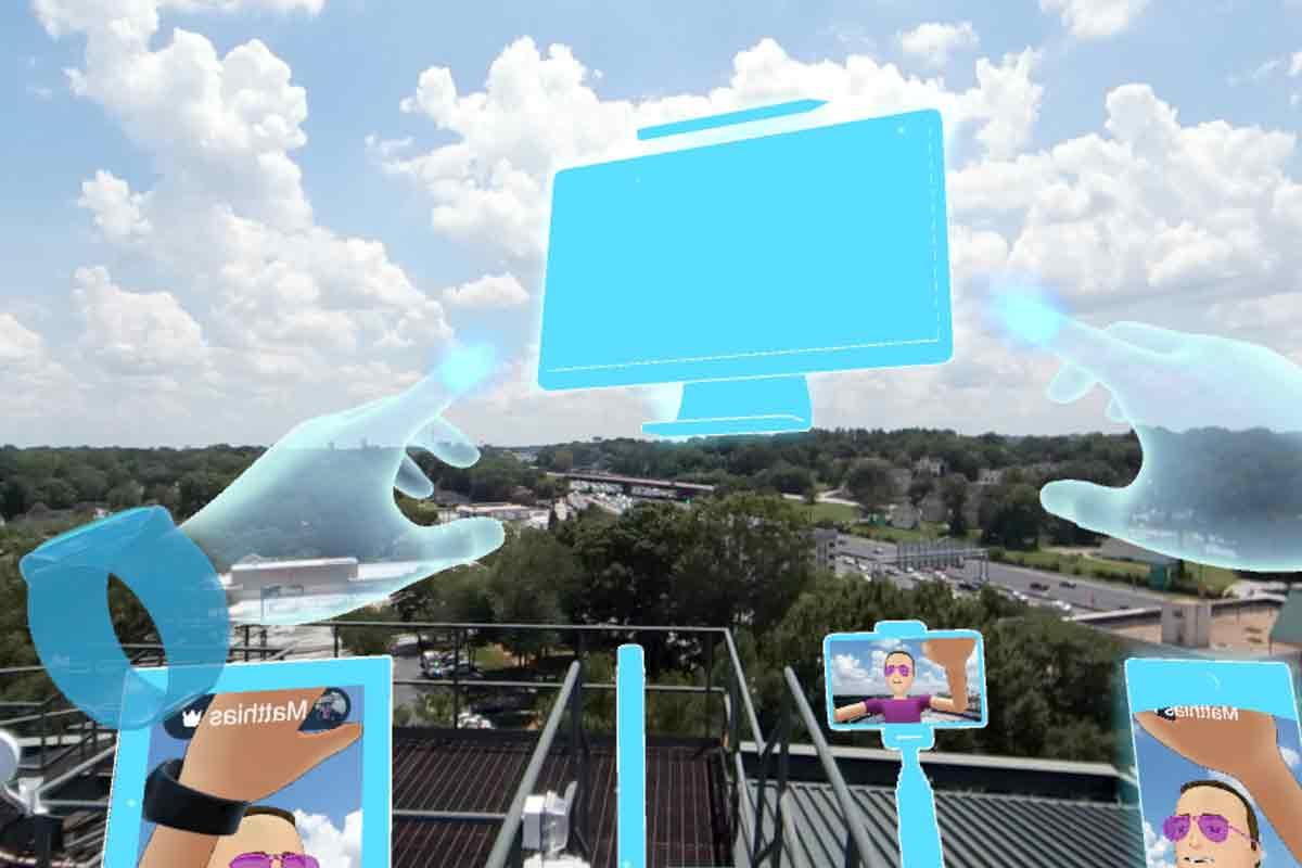 Virtual-Reality-Nutzer können jetzt Textnachrichten an den Facebook Messenger senden und in Spaces ihren Desktop teilen.