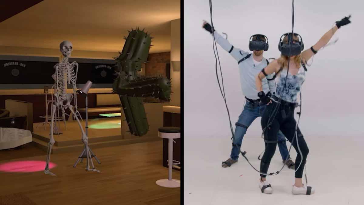 Gemeinsam mit dem VerlagCondé Nast veröffentlicht Facebook eine Virtual-Reality-Dating-Show, in der sich die Teilnehmer mit der VR-Brille auf dem Kopf als digitale Avatare begegnen.