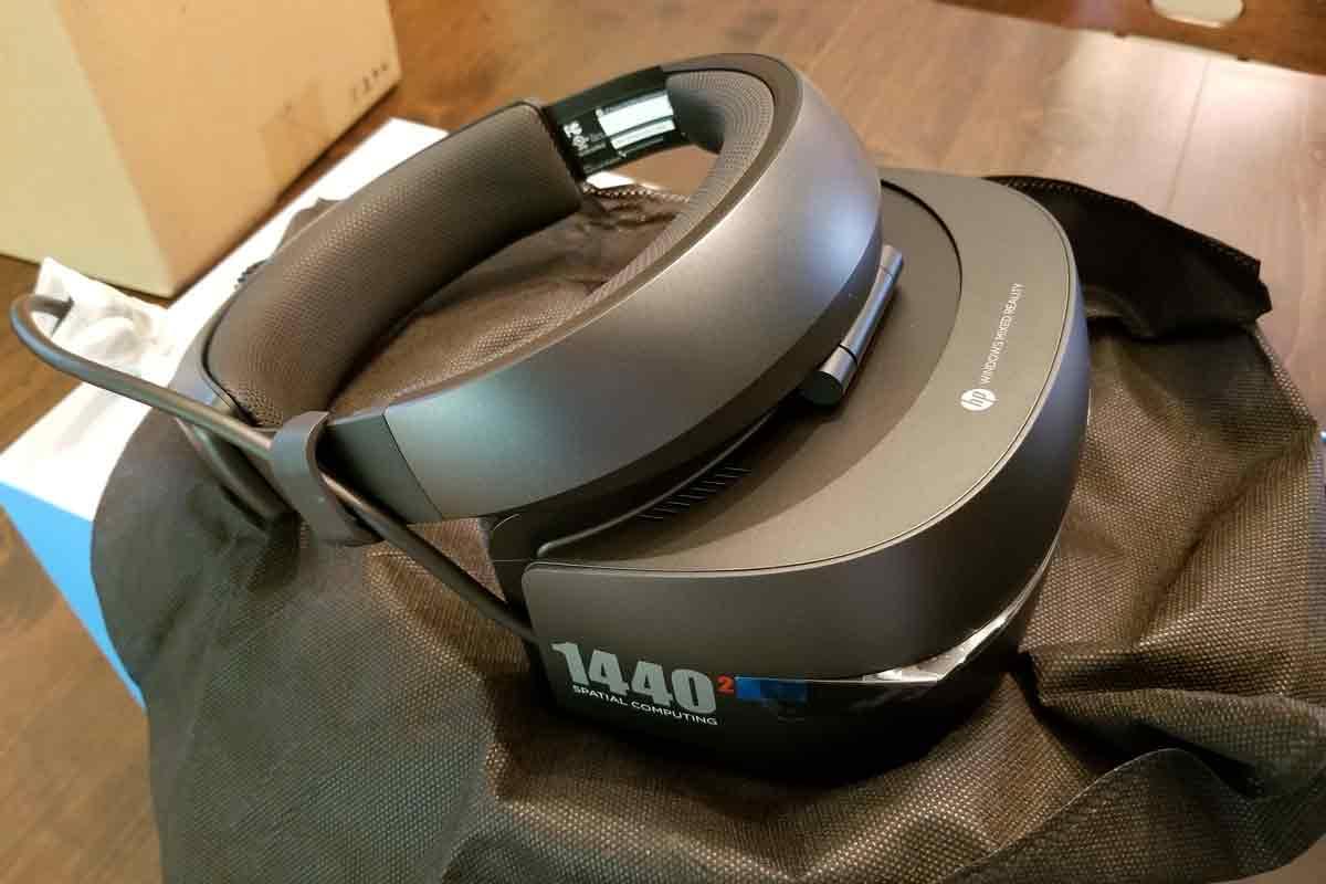 Microsoft startet mit Acer und HP in die Windows Mixed Reality. Ein Entwickler schildert seine ersten Eindrücke zur HP-Brille.