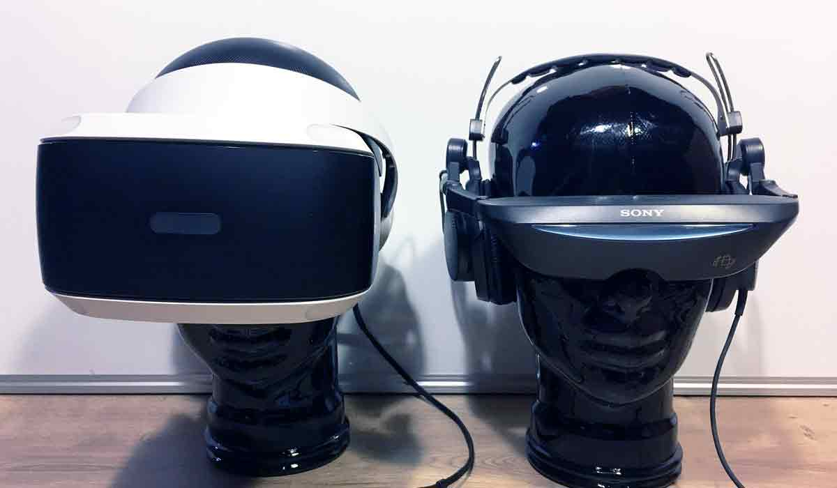 Das aktuelle Playstation-VR-Modell ist eigentlich Version 2 der Sony-Brille. Die erste Playstation-Brille erschien bereits 2002.