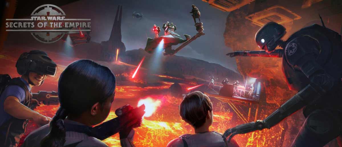 Kurz nach der Bekanntgabe einer Kooperation mit Disney kündigt die VR-Spielhalle The Void die obligatorische Star-Wars-Erfahrung an.
