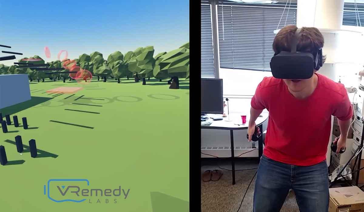 Die Entwickler von VRemedy Labs nähern sich den Problemen der virtuellen Fortbewegung mit maximaler Flexibilität. Kann man Virtual-Reality-Übelkeit wegtrainieren?