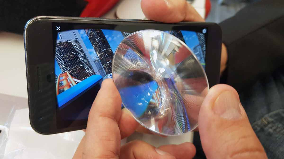 Wearality entwickelt extra dünne und leichte Fresnel-Linse