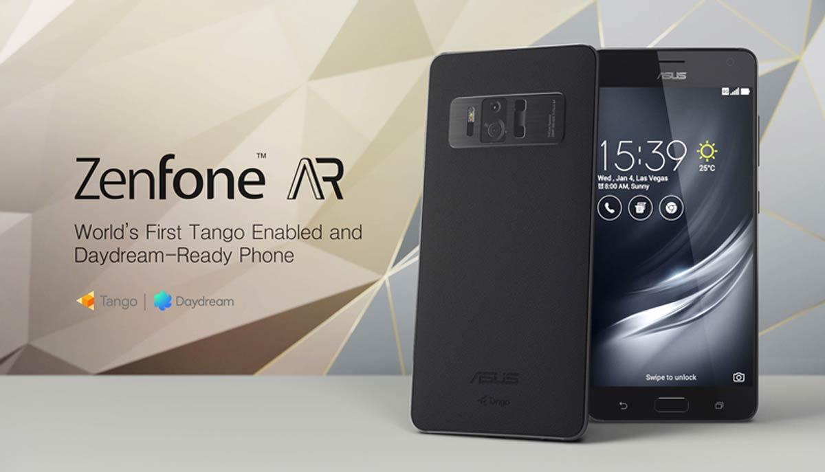 Das Zenfone AR ist das erste Smartphone, das mit Daydream und Tango beide Google-Standards für Virtual und Augmented Reality unterstützt.