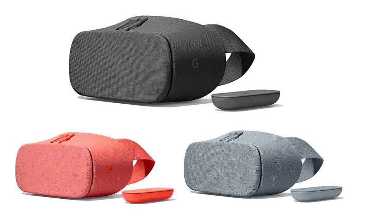 Im Internet sind Bilder neuer Modelle von Daydream View aufgetaucht, die Google vermutlich am 4. Oktober offiziell vorstellen wird.