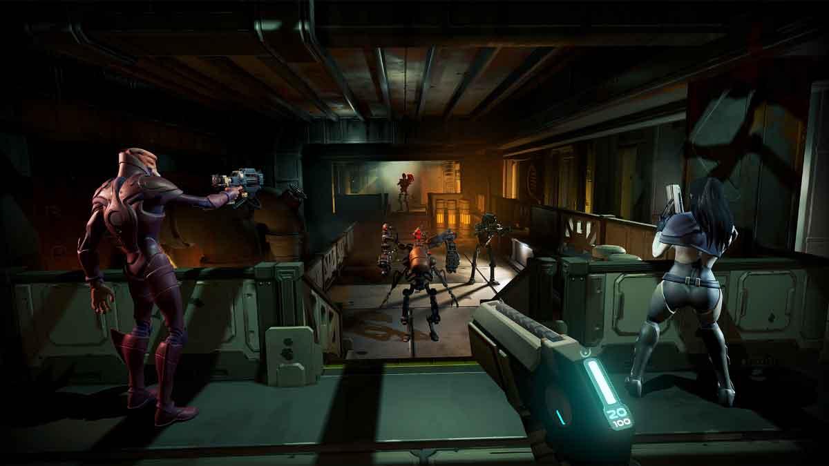 Der Ego-Shooter kombiniert das Crew- und Raumschifferlebnis von Star Trek: Bridge Crew mit Rollenspielelementen von Borderlands.
