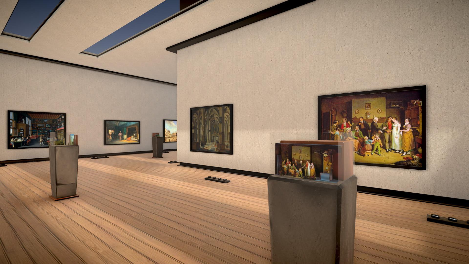 Das Museum of Throughview ist kein herkömmliches Museum. Es zeigt alte Gemälde und Fotografien mit einem verblüffenden 3D-Tiefeneffekt.