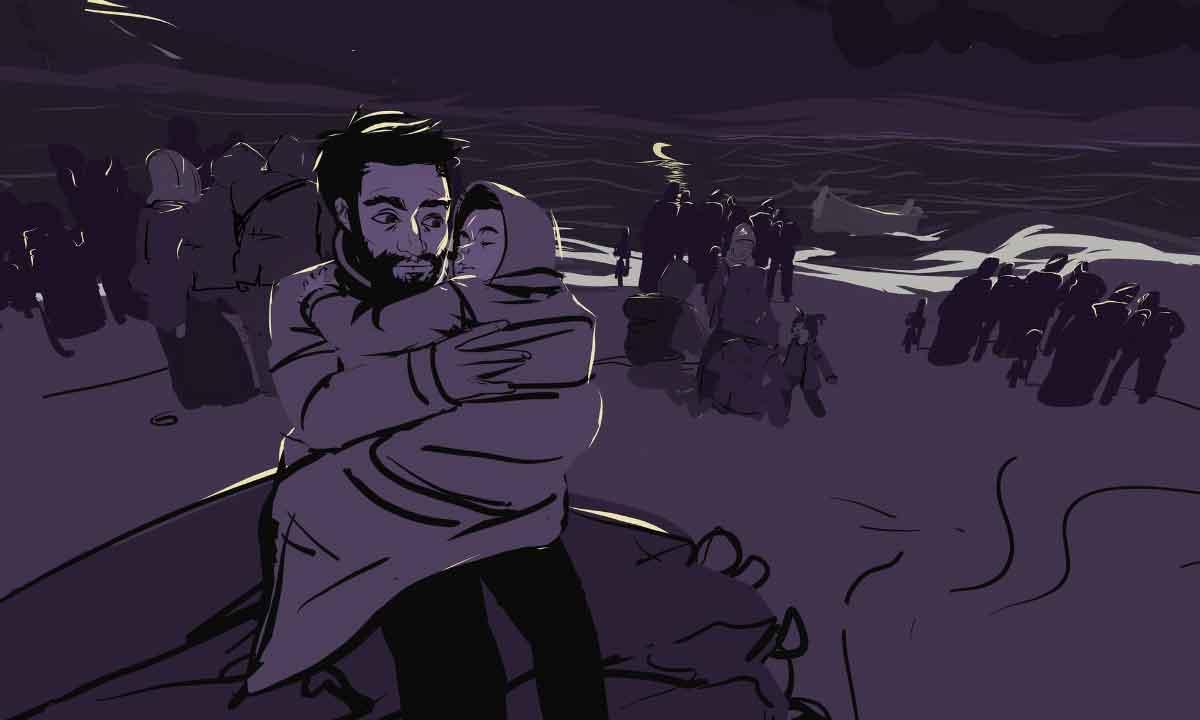 360-Grad-Film erinnert an ertrunkenen Flüchtlingsjungen Alan Kurdi
