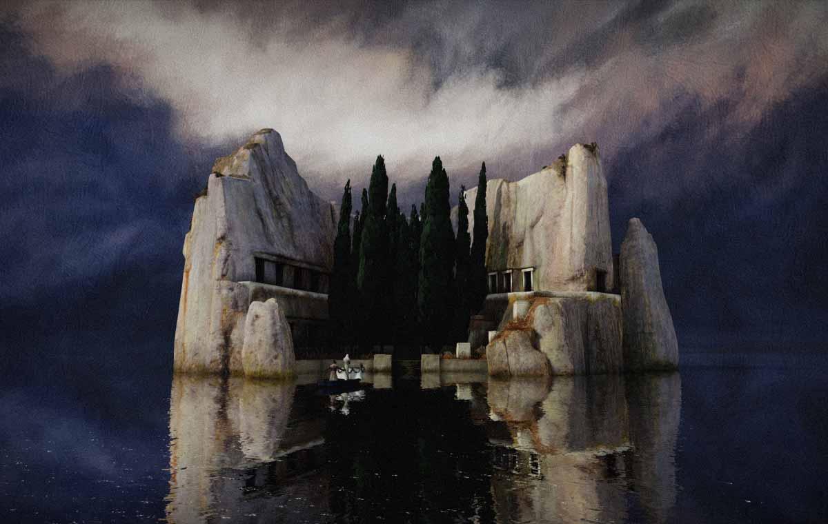 """Wenn aus Bildern Orte werden: Böcklins """"Toteninsel"""" in der Virtual Reality"""