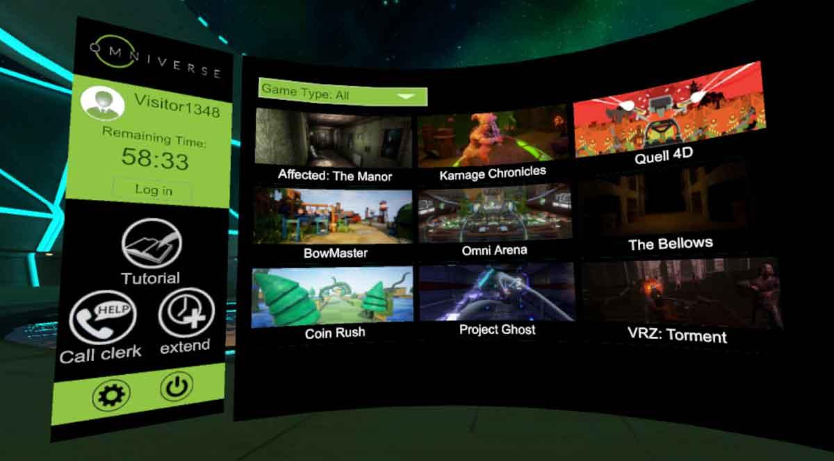 Virtuix startet VR-Plattform für Spielhallenbetreiber