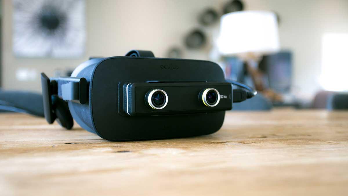 ZED Mini macht aus Oculus Rift und HTC Vive Mixed-Reality-Brillen