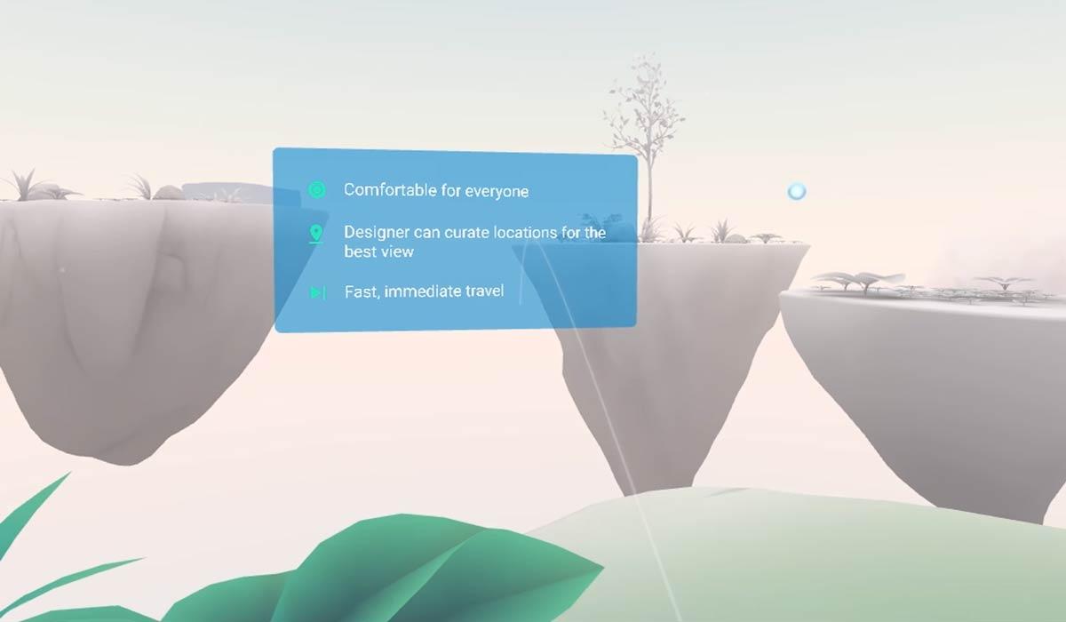 Mit Daydream Elements gibt Google Wissen zur Virtual-Reality-Entwicklung weiter, beispielsweise zu Fortbewegungsmethoden ohne VR-Übelkeit.