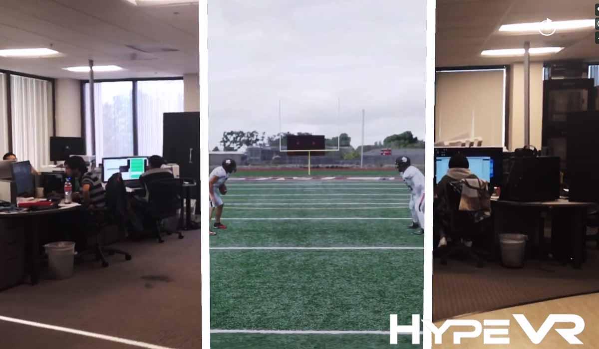 Das auf volumetrische Videos spezialisierte US-Startup Hype VR zeigt, wie ein Raumvideo mit Apples ARKit durchquert werden kann.