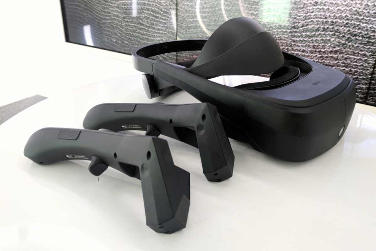 Neue Bilder von LGs kommender VR-Brille für Steam VR
