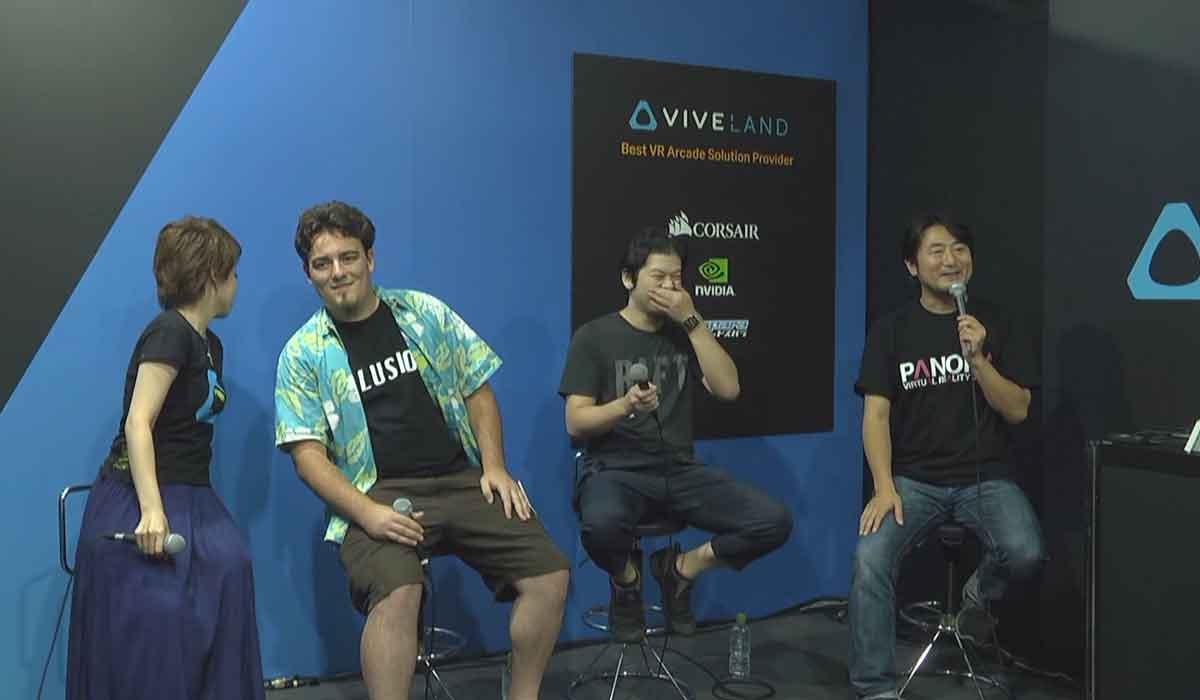 Auf der Tokyo Game Show kam es zu einer Situation, die im letzten Jahr noch undenkbar war: Rift-Erfinder Luckey trat auf der Vive-Bühne auf.