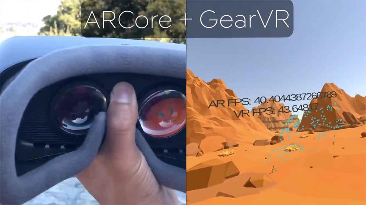 ARCore ermöglicht räumliches Tracking mit Gear VR