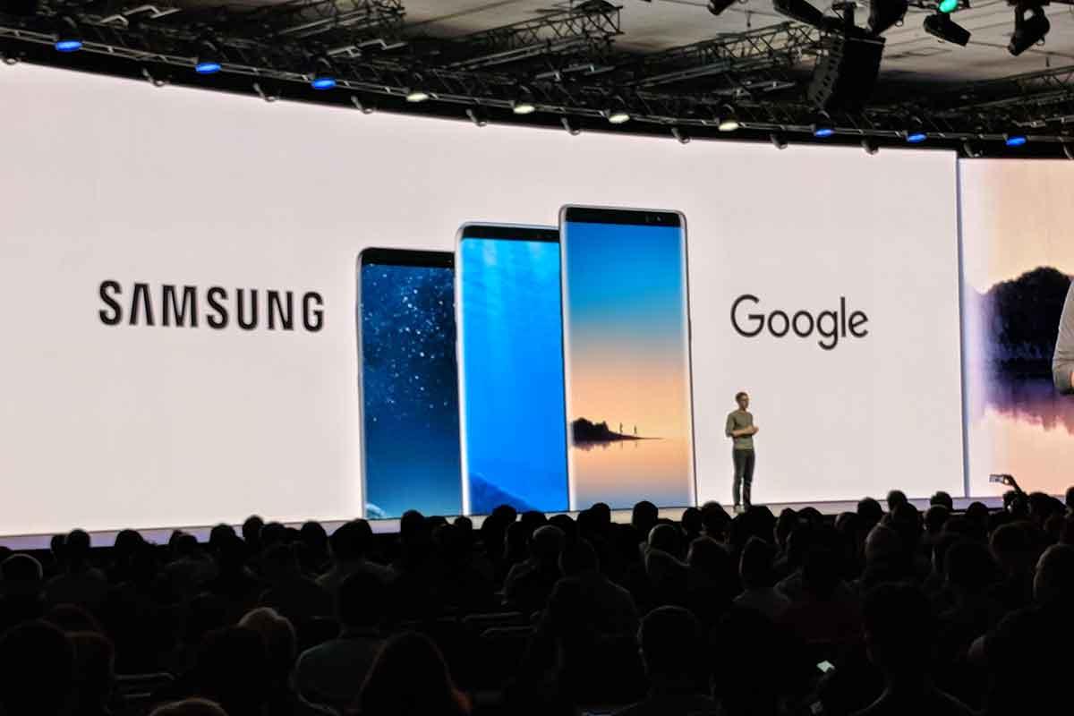 Das Galaxy S8+ und Galaxy Note 8 unterstützen demnächst ARCore. Zukünftige Samsung-Geräte setzen ebenfalls auf die AR-Plattform.