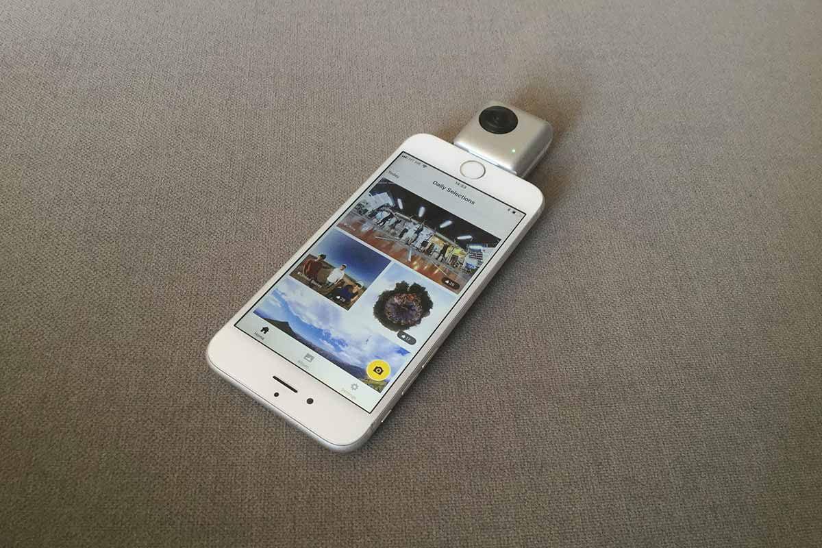 Mit der Insta360 Nano wird das iPhone im Handumdrehen um eine 360-Grad-Kamera erweitert. Ob sich der Kauf lohnt, erfahrt ihr in unserem Test.